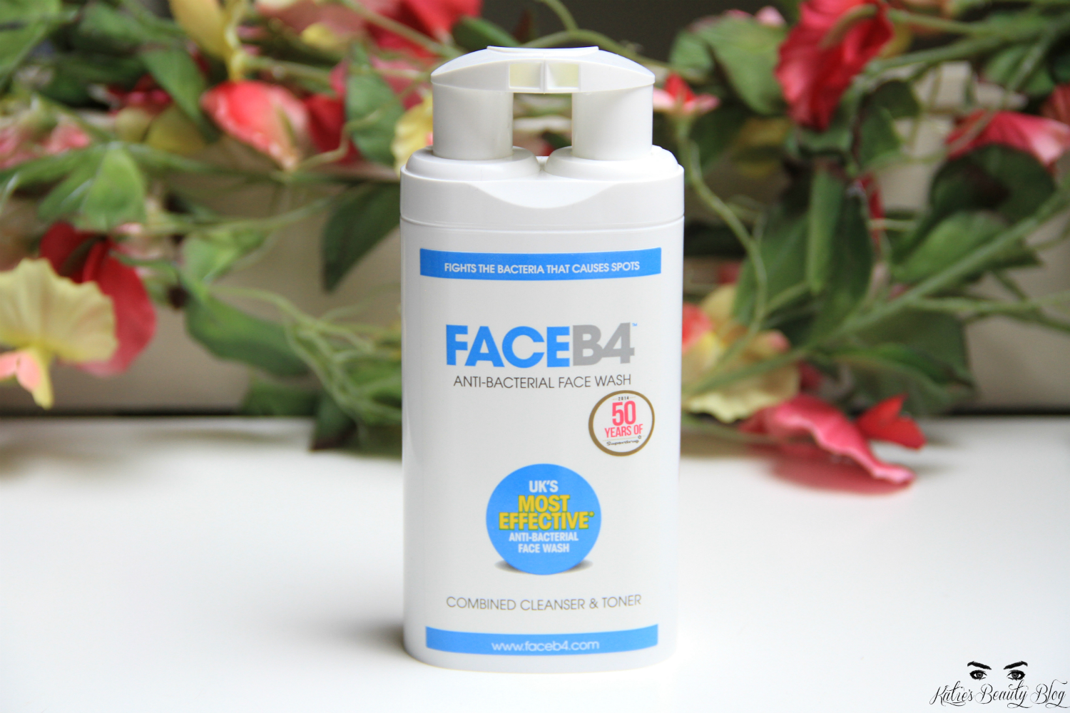 My review of Face B4 Face Wash & Serum